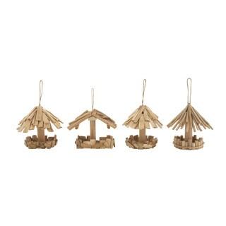 Driftwood Bird Feeder (Set of 4)