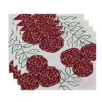 Tri Floral Table Top Placemat (Set of 4)