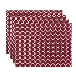 Geometric Trellis Table Top Placemat (Set of 4)