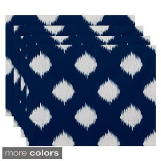 Static Polka-dot Geometric Table Top Placemat (Set of 4)