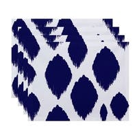 Geometric Static Polka-dot Table Top Placemat (Set of 4)