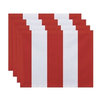 Thick Stripe Print Table Top Placemat (Set of 4)