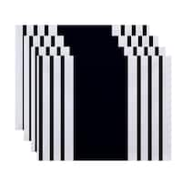 Side Stripes Print Table Top Placemat (Set of 4)
