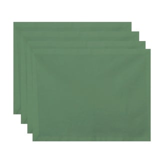 Solid Pattern Table Top Placemat (Set of 4)
