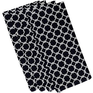 Trellis Print 19-inch Table Top Napkin