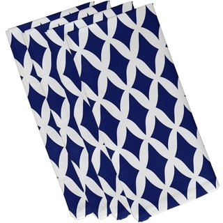Geometric Lattice Print 19-inch Table Top Napkin