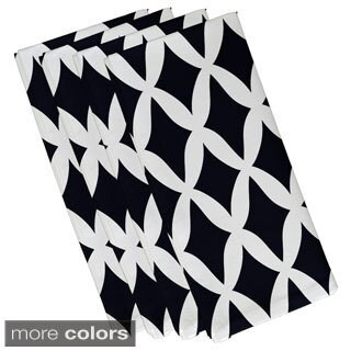 Large Geometric Lattice Print 19-inch Table Top Napkin