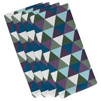 Geometric Triangular Print 19-inch Table Top Napkin
