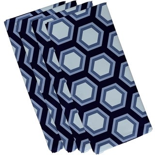 Honeycomb Print 19-inch Table Top Napkin