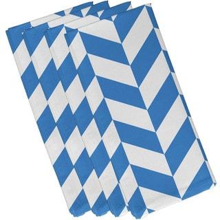 Geometric Mixed Stripe Print 19-inch Table Top Napkin