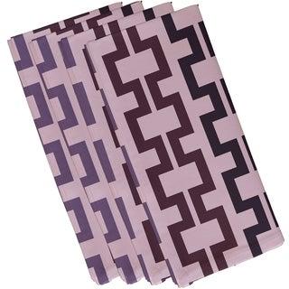 Greek Key Print 19-inch Table Top Napkin