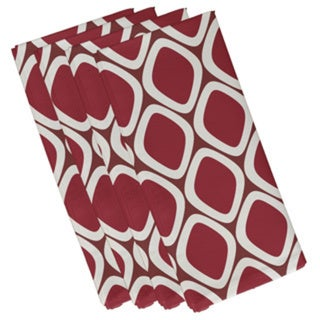 Abstract Diamond Geometric 19-inch Table Top Napkin
