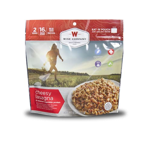 Wise Company Outdoor Cheesy Lasagna (6 pouches)