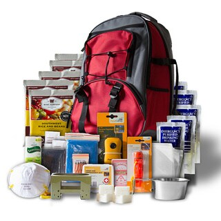 5 Day Red Emergency Backpack