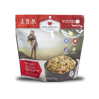 Wise Company Outdoor Teriyaki Chicken and Rice (6 pouches)