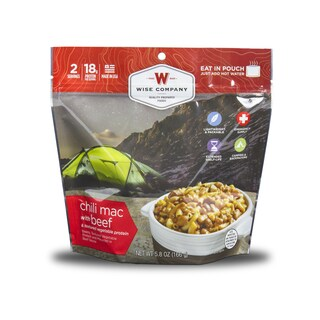Wise Company Outdoor Chili Mac with Beef (6 pouches)