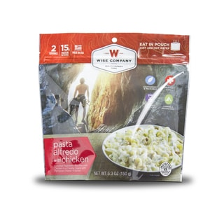 Wise Company Outdoor Pasta Alfredo with Chicken (6 Pouches)