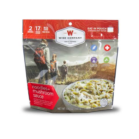 Wise Company Outdoor Noodles and Beef (6 Pouches) - 11x10x15