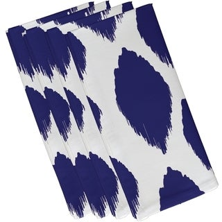 Geometric Large Static Polka-dot Print 19-inch Table Top Napkin