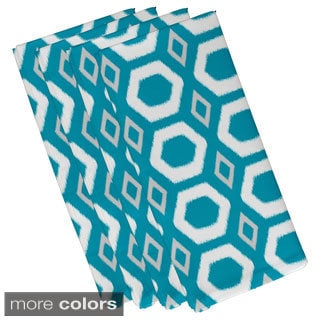 Geometric Honeycomb 19-inch Table Top Napkin
