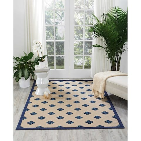 Nourison Aloha Blossom Indoor/Outdoor Area Rug