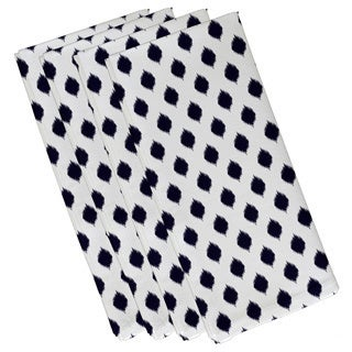 Static Polka-dot Geometric Print 19-inch Table Top Napkin