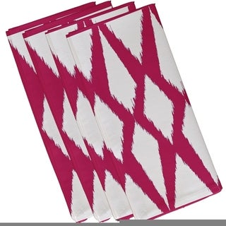Geometric Print 19-inch Table Top Napkin