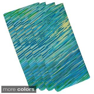 Coastal Oceanic Print 19-inch Table Top Napkin