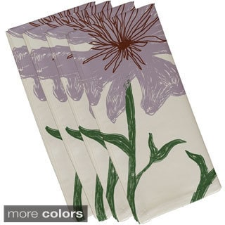 Floral Print 19-inch Table Top Napkin