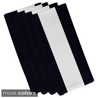 Large Stripe Print 19-inch Table Top Napkin