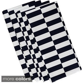 Mixed Stripe Print 19-inch Table Top Napkin