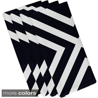 X' Stripe Print 19-inch Table Top Napkin