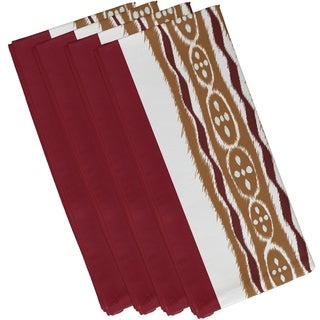 Mixed Tribal Stripe Print 19-inch Table Top Napkin