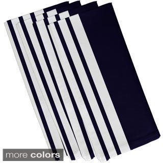 Side Stripes Print 19-inch Table Top Napkin