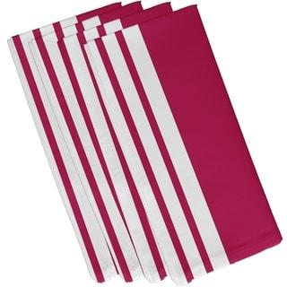 Side Stripes Print 19-inch Table Top Napkin