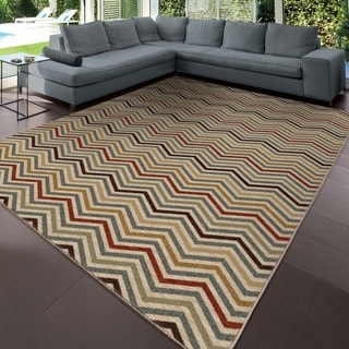 "Simplicity Harrington Multi Area Rug (3'11"" x 5'5"")"