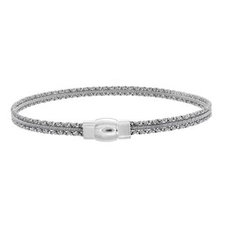 Sterling Essentials Silver Mini Cuff Bracelet