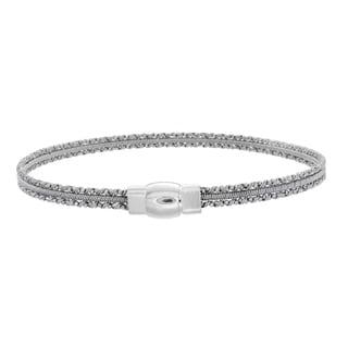 Sterling Essentials Silver Mini Cuff Bracelet