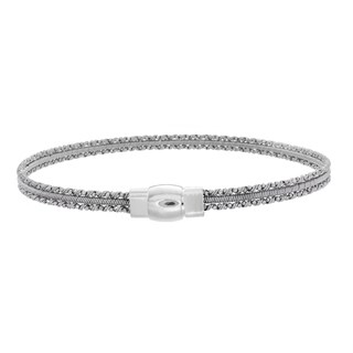 Sterling Essentials Silver Mini Cuff Bracelet (2 options available)