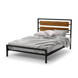 Amisco Fargo 54-inch Full-size Metal Headboard and Footboard (No Rails Included)