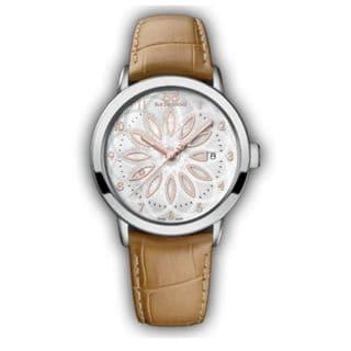 Rue Du Rhone Women's 87WA140014 'Double 8' Brown Leather Watch