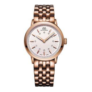 Rue Du Rhone Women's 87WA120013 'Double 8' Rose-Tone Stainless steel Watch