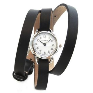Coach Women's 14501982 'Classic' Black Leather Watch