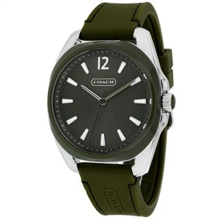 Coach Women's 14501919 'Classic' Green Silicone Watch