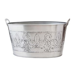 Antique Embossed Victoria 5.5-gallon Party Tub
