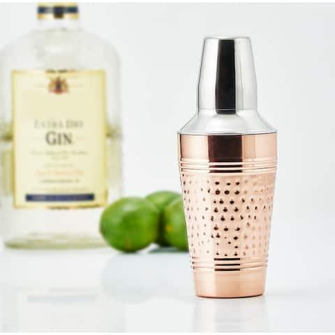 Hammered Decor Copper Fez Cocktail Shaker