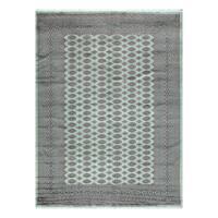 Herat Oriental Pakistani Hand-knotted Bokhara Wool Rug (8'11 x 12'1) - 8'11 x 12'1