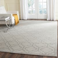 Safavieh Indoor/ Outdoor Amherst Ivory/ Light Grey Rug - 8' x 10'