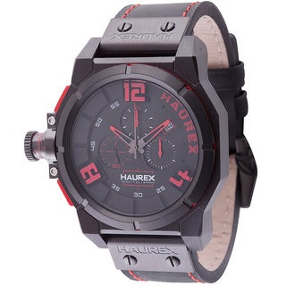 Haurex Italy Mens space chrono Black Watch