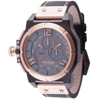 Haurex Italy Mens space chrono grey Watch